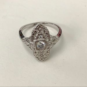 BEST REPLICA OF AN ANTIQUE DIAMOND RING
